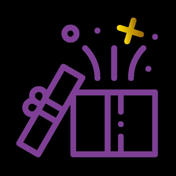 Wunschbox Portfolio Icon der Agentur Glücksgriff Website